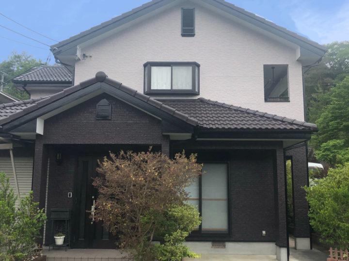 愛媛県 H様邸 外壁塗装工事、屋根塗装工事