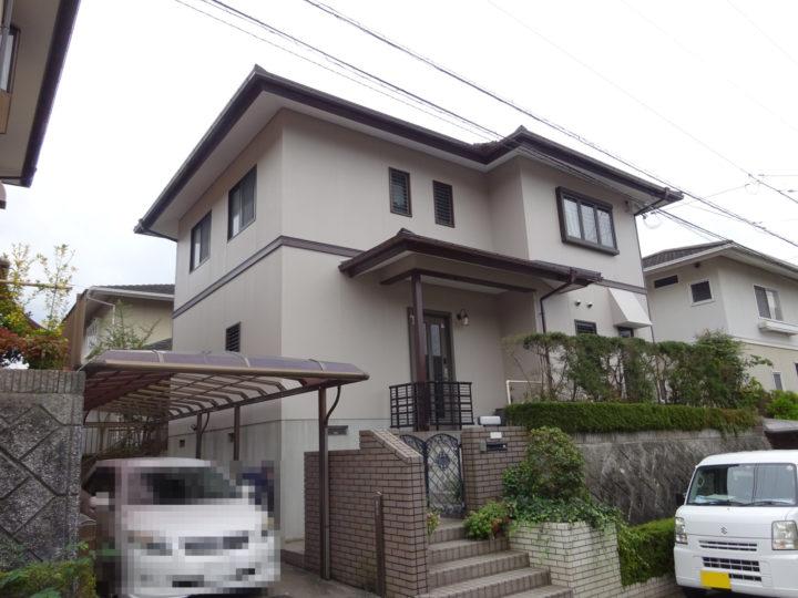愛媛県 K様邸 外壁塗装 屋根塗装