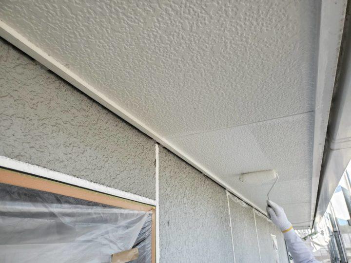 付帯 軒天 塗装