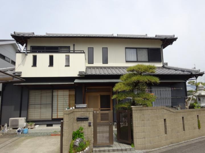 愛媛県東温市 T様邸 外壁塗装