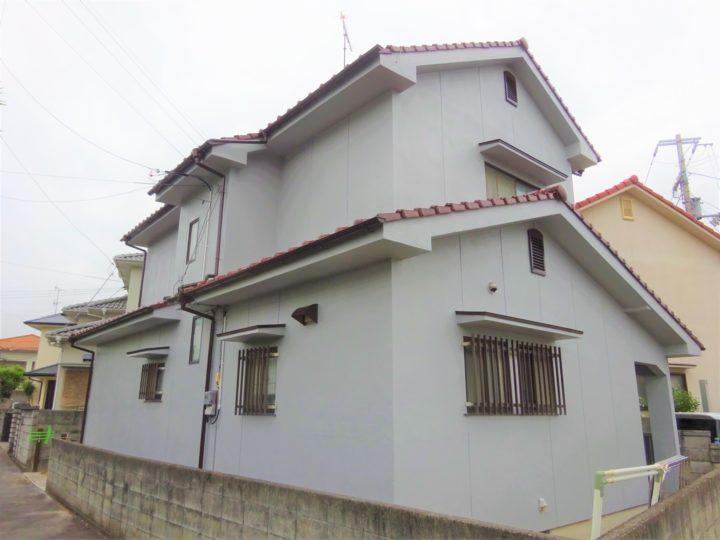 愛媛県東温市 H様邸 外壁塗装