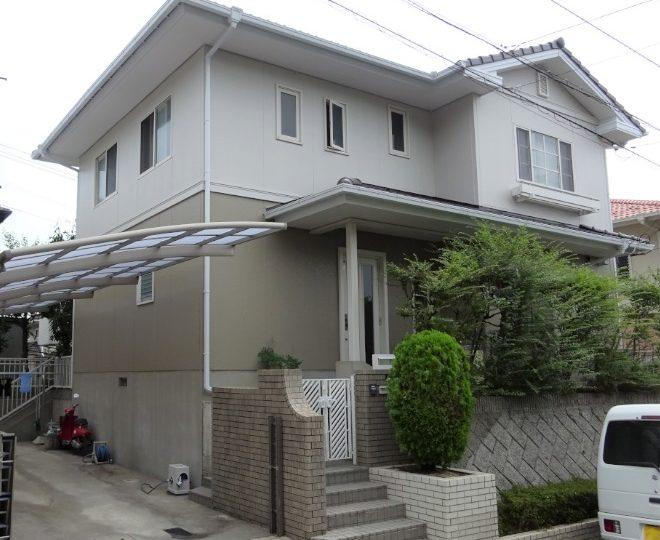 愛媛県松山市 K様邸 外壁塗装 屋根塗装