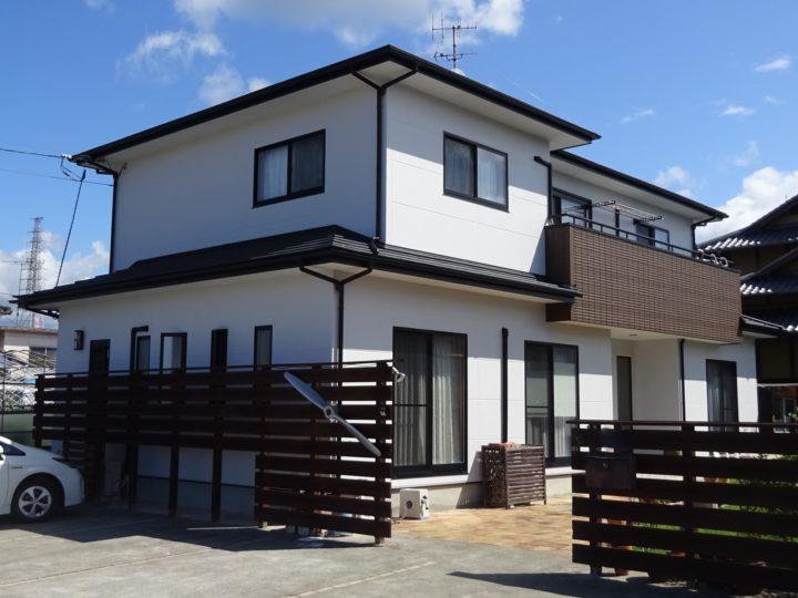 愛媛県松山市 K様邸 外壁塗装