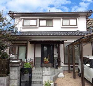 愛媛県松山市 Y様邸 外壁塗装工事