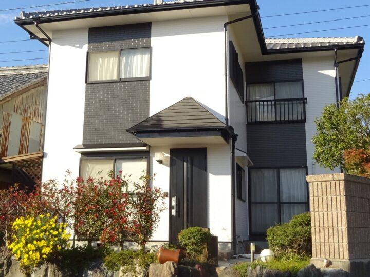 愛媛県東温市 U様邸 外壁塗装