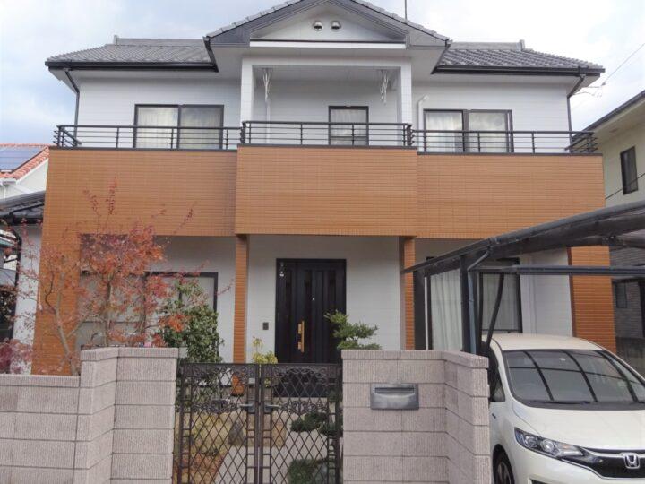 愛媛県松山市 O様邸 外壁塗装