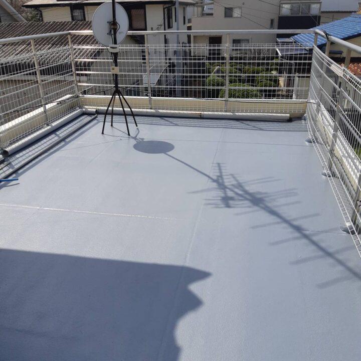 新居浜市 O様邸 外壁塗装 防水工事 塀塗装工事