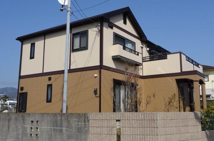 東温市 Y様邸 外壁塗装 屋根塗装