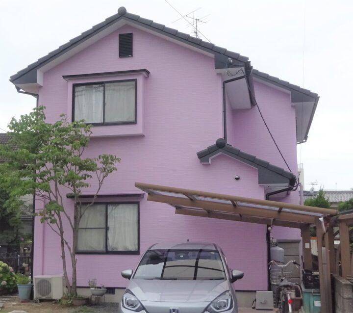 東温市 T様邸 外壁塗装 屋根塗装